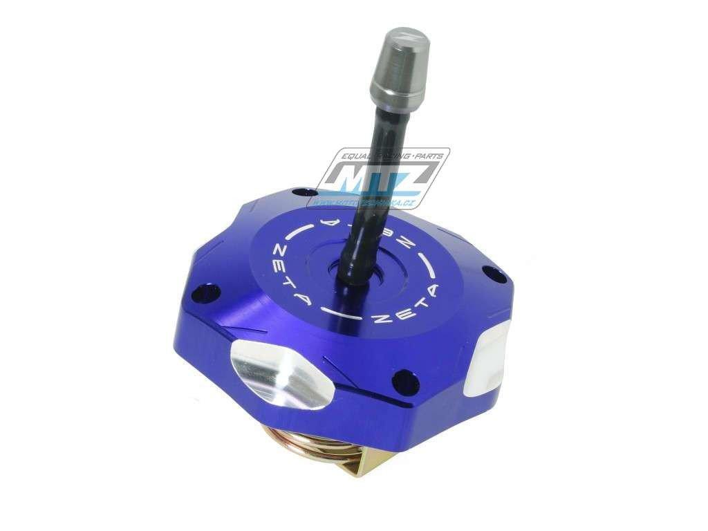 Víčko nádrže Zeta - Yamaha Yamaha YZ85+YZ125+YZ250 / 02-18 + YZF250+YZF450+WRF250+WRF450 + Kawasaki KXF250+KXF450 / 06-18 + KX250 / 05-08 + KX85 / 14-18 - modré