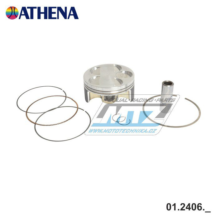 Píst Yamaha YZF250 / 01-07 + WRF250 / 01-13 + Gas-Gas EC250F / 10-16 - rozměr 76,98mm
