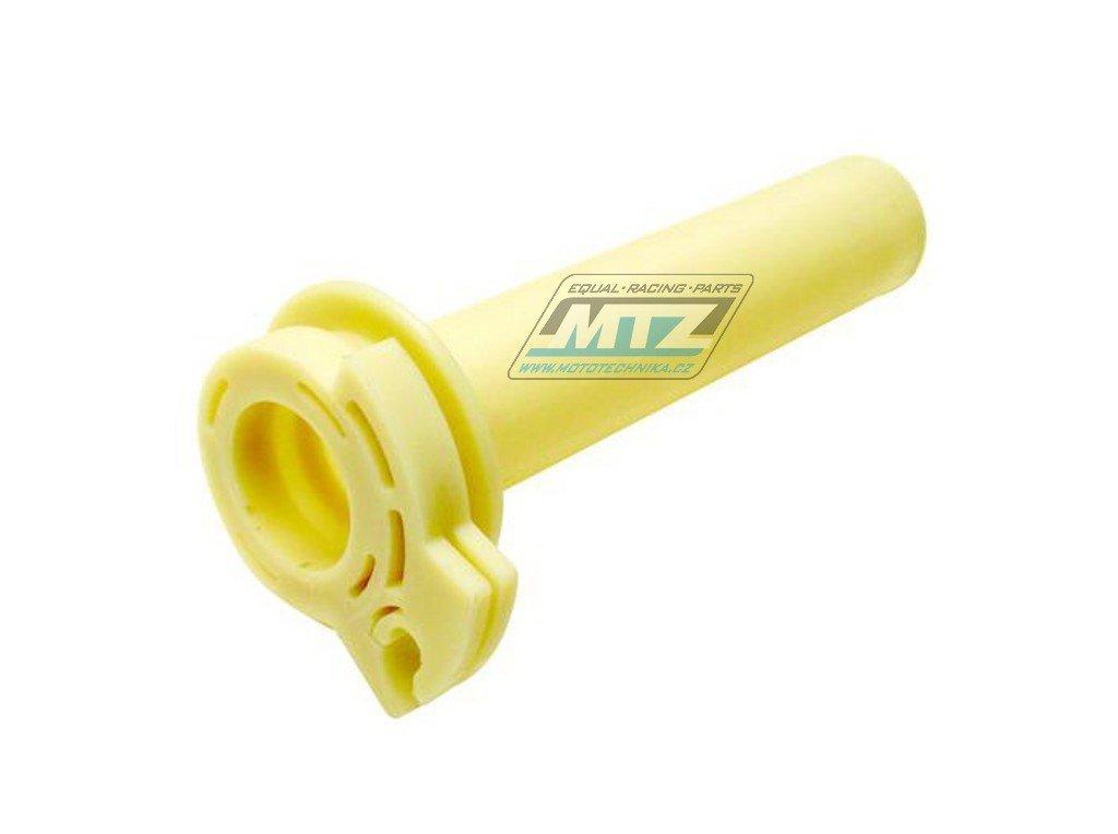 Rukojeť plynu plastová Kawasaki KX80+KX85 / 89-18 + KX65 / 88-17 + KLX110 / 02-09 + KL600 1984 + Suzuki RM65 / 03-06 + DRZ110 / 03-05