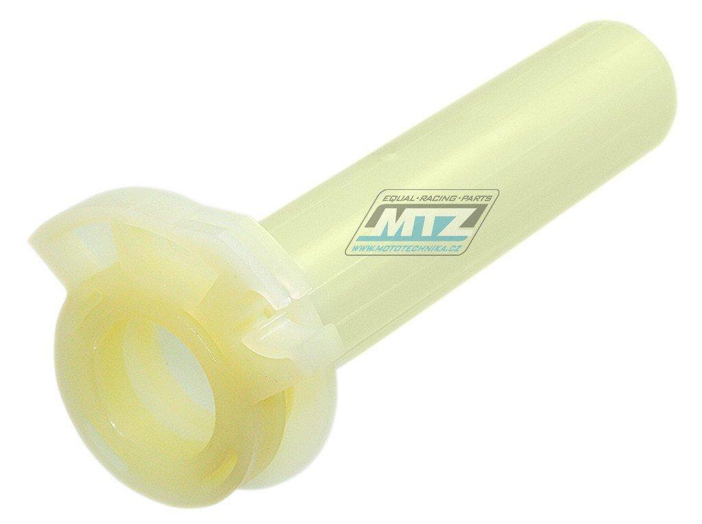 Rukojeť plynu plastová Kawasaki KX125+KX250 / 83-91 + KX500 / 83-04 + KX80 / 84-88 + KDX250 / 83-94 + KDX200 / 83-06 + KDX220 / 97-05