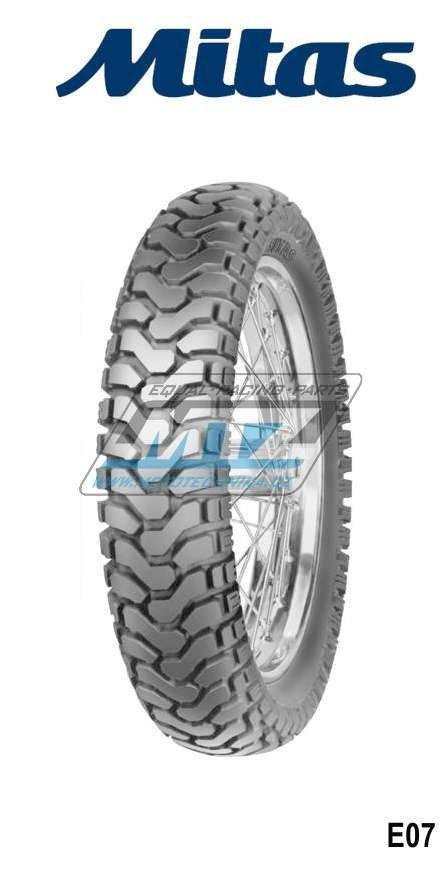 """Pneu Mitas 110/80-19"""" E07 TL Dakar"""