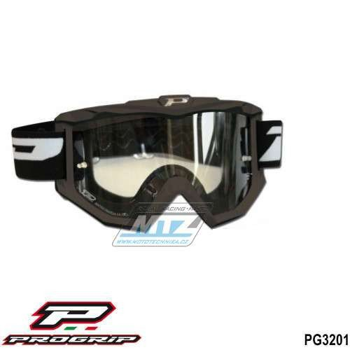 Brýle Progrip 3201 - černé