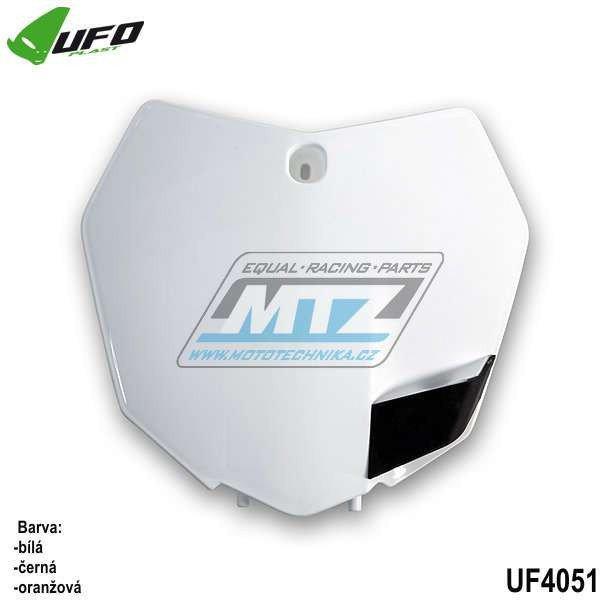 Tabulka predná KTM 125+150SX / 13-15 + 250SX / 13-16 + 250+350+450SXF / 13-15 - biela