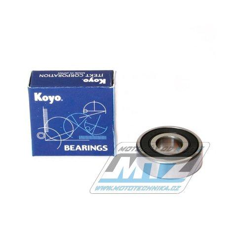 Ložisko 6201-C3-2RS (rozměry: 12x32x10 mm) Koyo