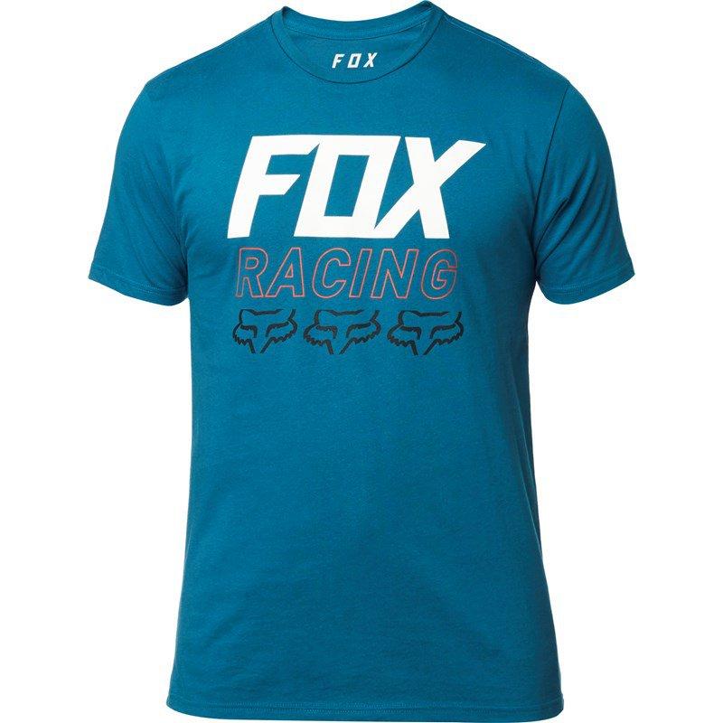 Tričko FOX Overdrive Premium Tee Midnight Blue - velikost XXL