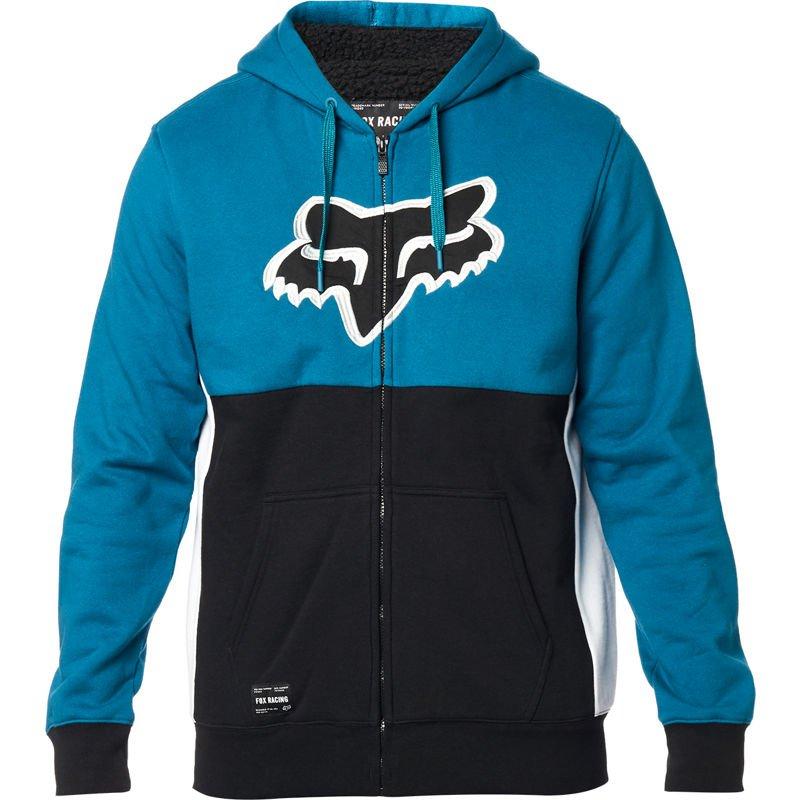 Mikina zateplená FOX Rebound Sherpa Fleece Midnight Blue - velikost XXL