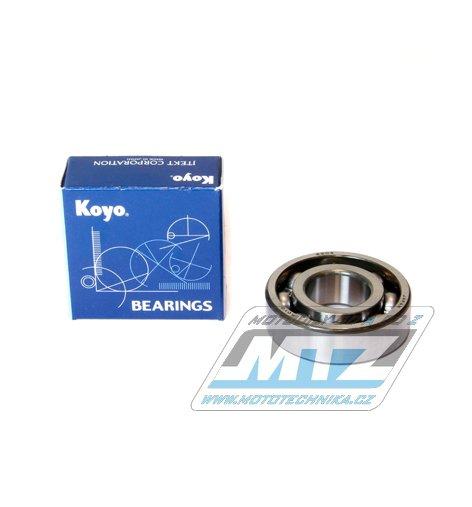Ložisko 6204-C3 (rozměry: 20x47x14 mm) Koyo