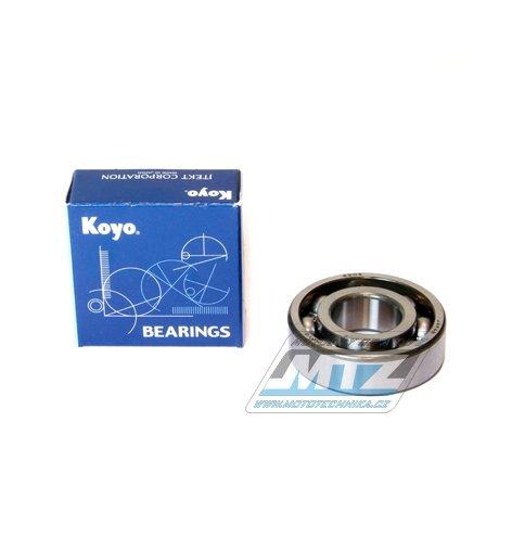 Ložisko 6204-C4 (rozměry: 20x47x14 mm) Koyo