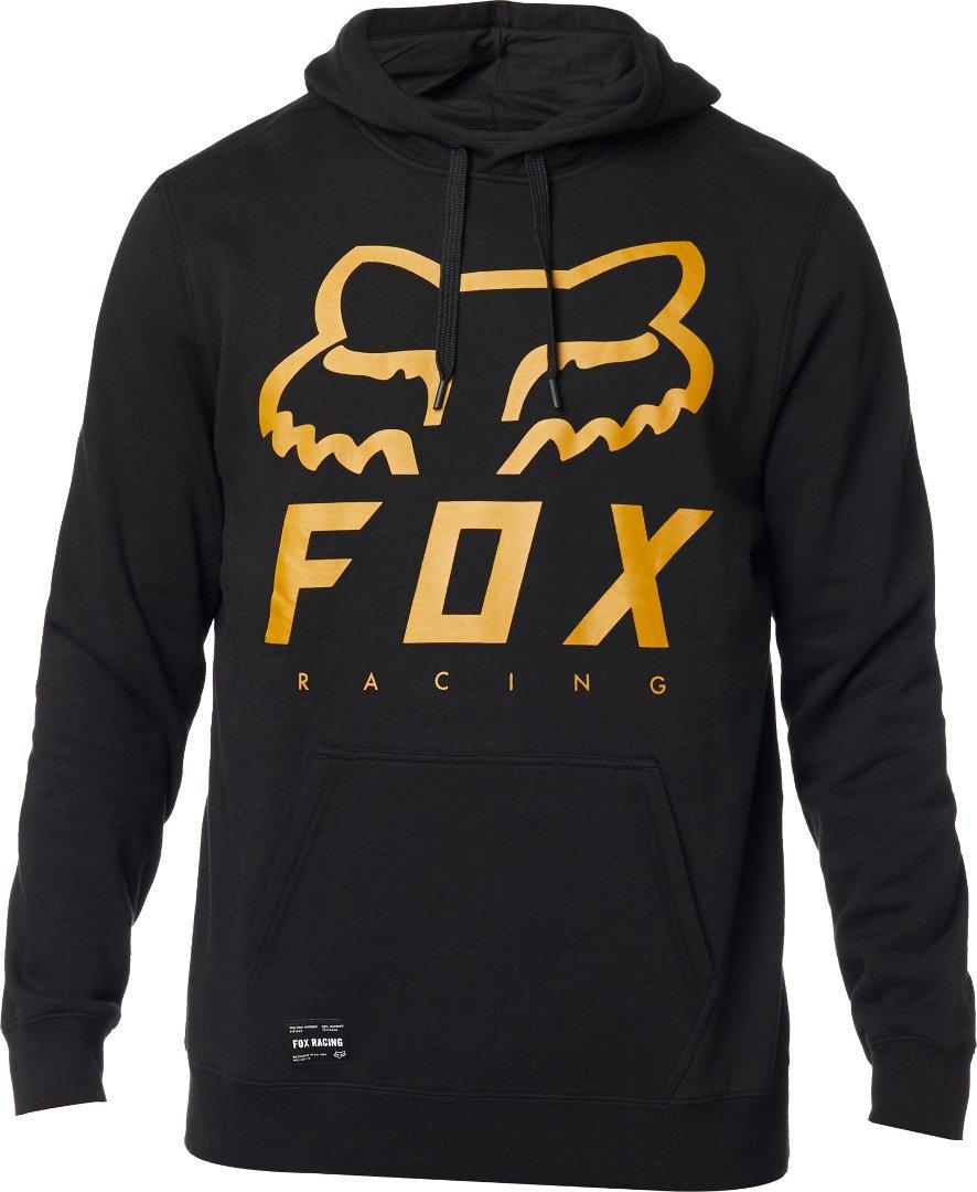 Mikina FOX Heritage Forger Pofleece Black - velikost XXL