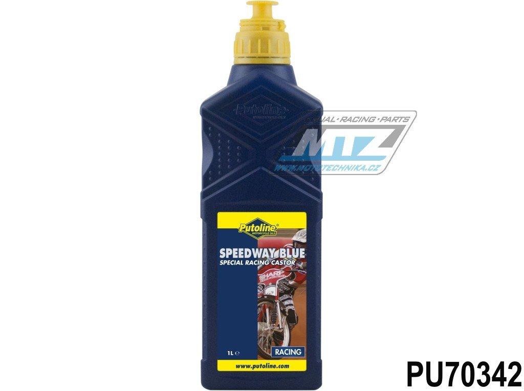 Olej Speedway Blue s ricinem pre 4t aj 2t (1L)