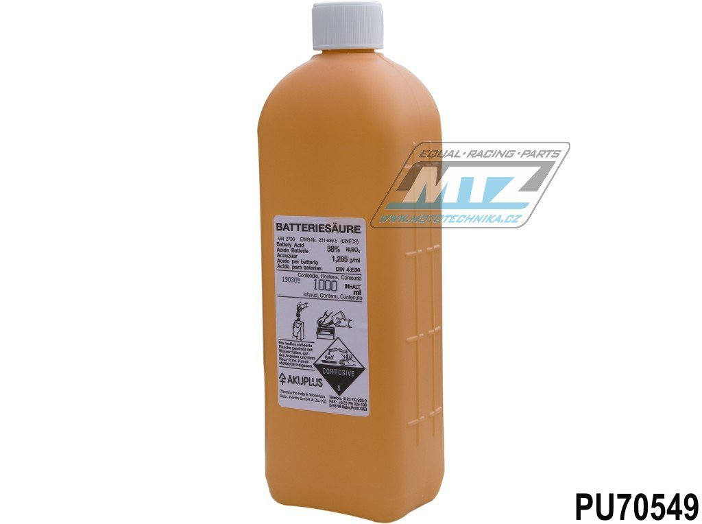 Kyselina do baterií ACCU (1L)