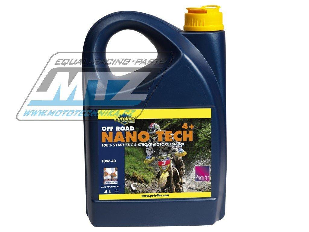 Olej NanoTech OffRoad4+ 10W/40 (4L)