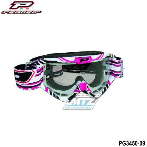 Brýle Progrip 3450 - růžové