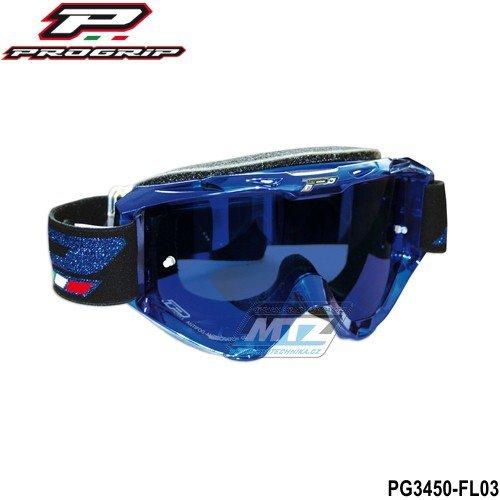 Brýle Progrip 3450-FLASH modré