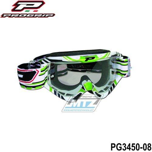 Brýle Progrip 3450 - zelené