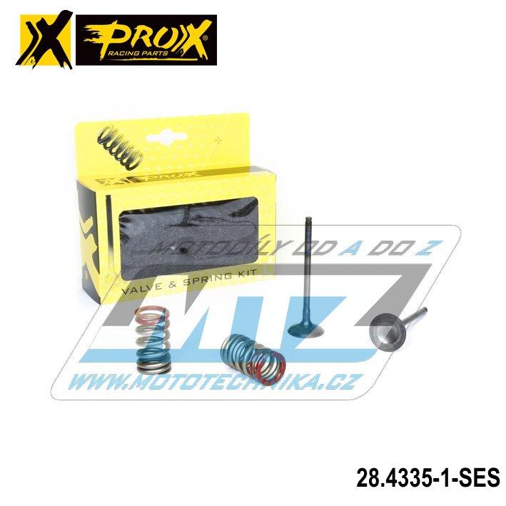 Ventile výfukové nerezové Kawasaki KXF250 / 04-16 + Suzuki RMZ250 / 04-06 (sada 2 ventily + 2 pružiny) PROX