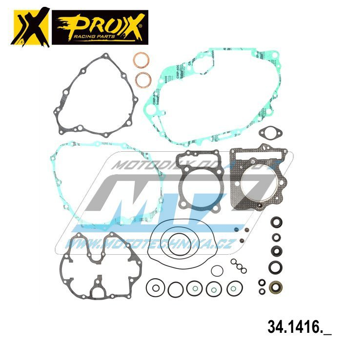 Těsnění kompletní motor (včetně gufer motoru) Honda XR400R / 96-04