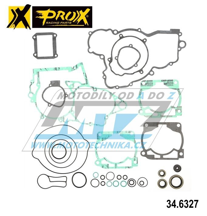 Těsnění kompletní motor (včetně gufer motoru) KTM250 SX / 07-16 + KTM250 SX / 07-14 + KTM250 EXC / 07 + Husqvarna TC250 2T / 14-16