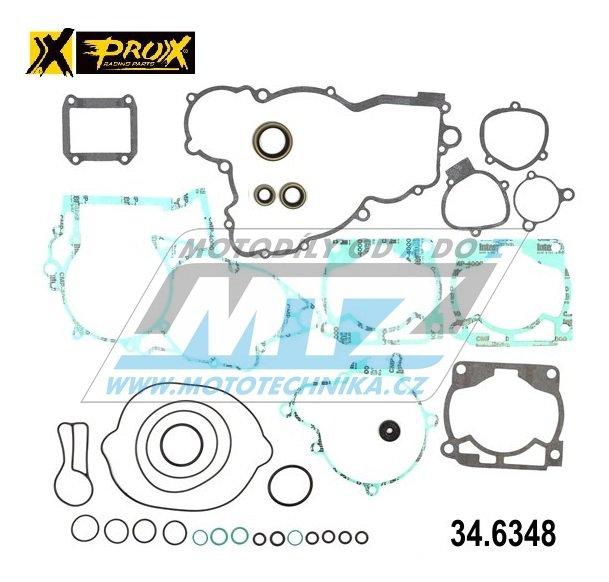 Těsnění kompletní motor (včetně gufer motoru) KTM 300EXC / 08-16 + Husqvarna TE300 / 14-16 + Husaberg TE300 / 11-14