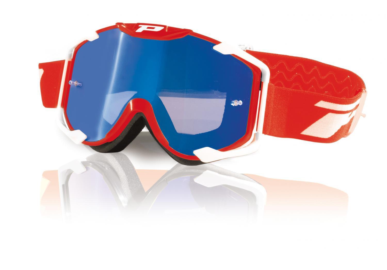 Brýle Progrip 3404 MENACE Red - červené