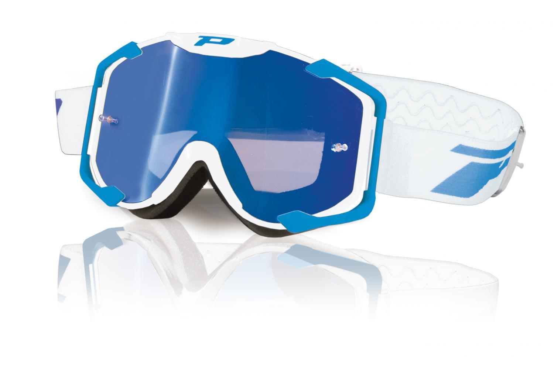 Brýle Progrip 3404 MENACE Turqoise - bílé