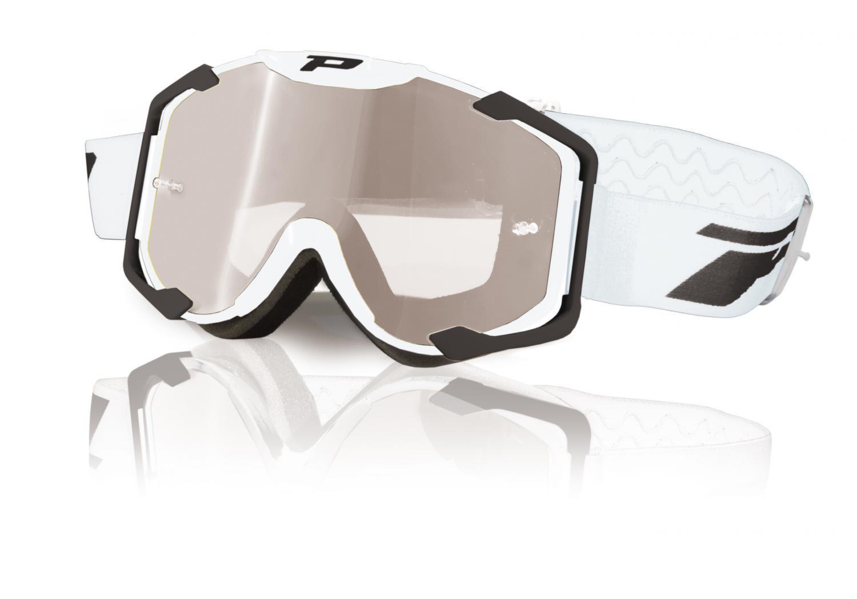 Brýle Progrip 3404 MENACE White - bílé
