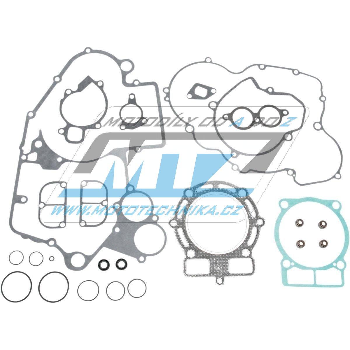 Tesnenie kompletný motor KTM400+KTM450 EXC / 00-07 + Beta RR400+Beta450 / 05-09 MTZ