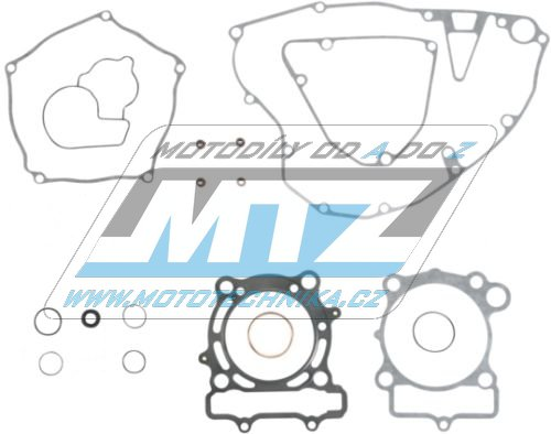 Těsnění kompletní motor Kawasaki  KXF250 / 04-08 + Suzuki RMZ250 / 04-06