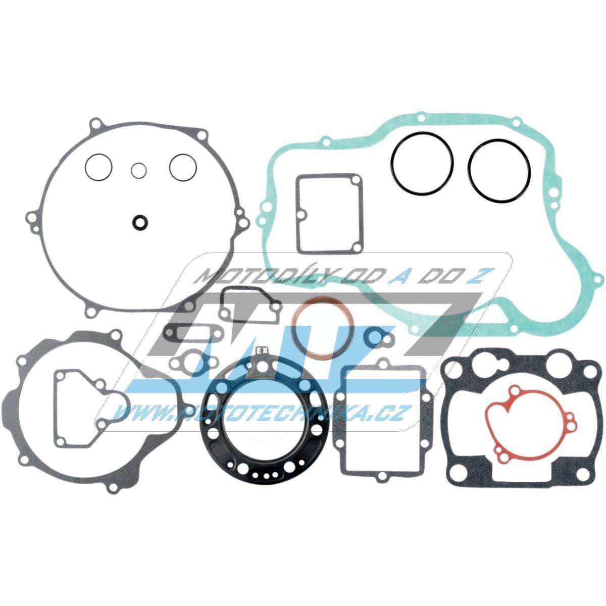 Tesnenie kompletné motor Kawasaki KX250 / 93-03 MTZ