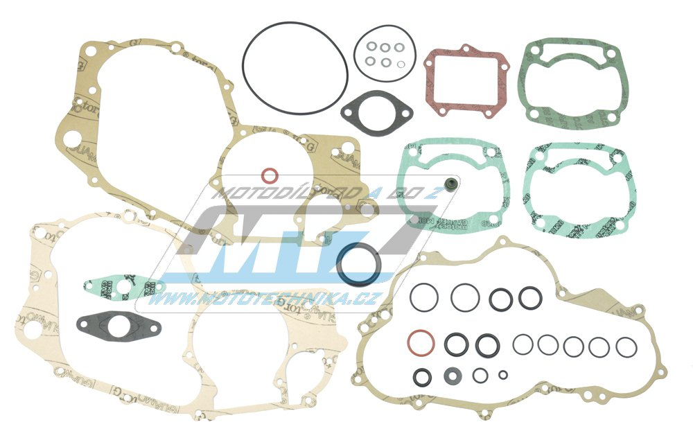 Těsnění kompletní motor Aprilia AF1 125 Sintesi + Replica + Sport + Europa + Futura + RS125 Extrema / 88-95 + další s motocykly s motorem Rotax 123