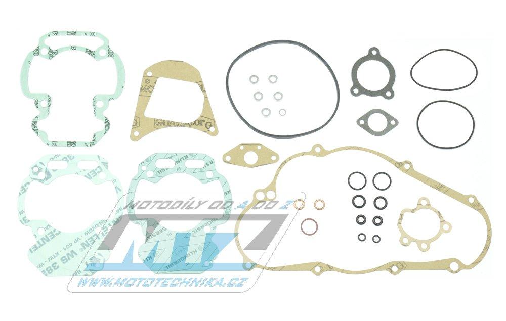 Těsnění kompletní motor Aprilia ETX125 + Tuareg125 + Wind125 / 85-88 + další s motocykly s motorem Rotax 127