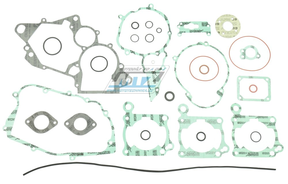 Těsnění kompletní motor Cagiva125 Mito / 91-08 + Cagiva125 Planet + Cagiva125 Supercity + Cagiva125 Carenata + Cagiva125 K7 / 91-06