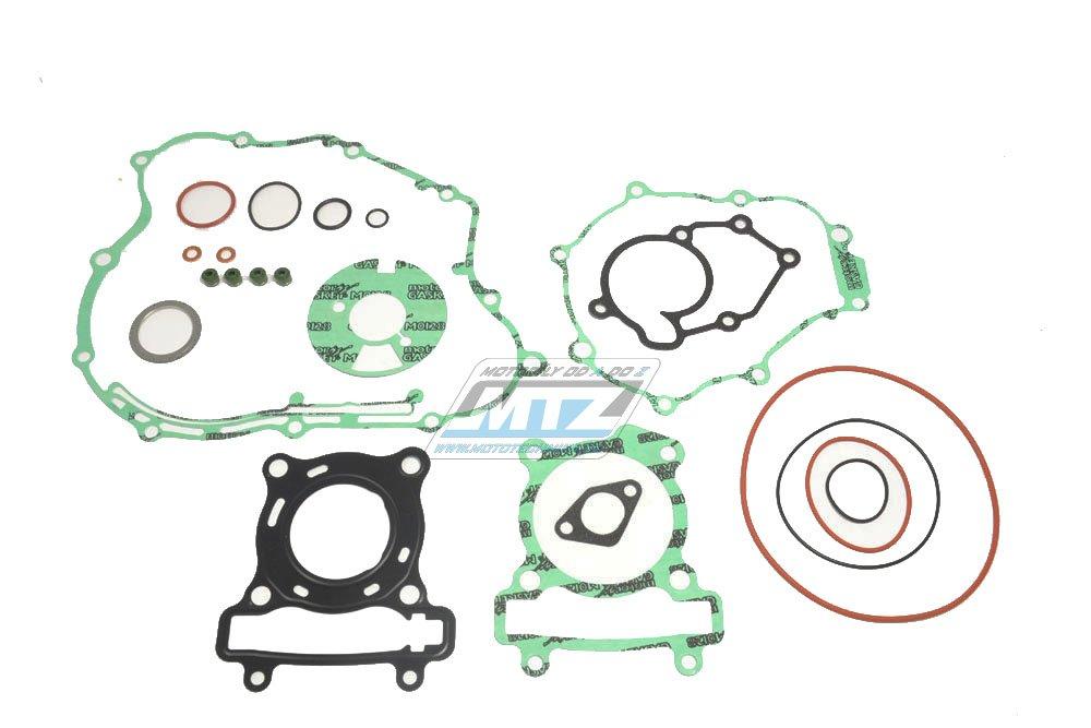 Těsnění kompletní motor Yamaha WR125R+WR125X+YZF125R + HM Honda CRMF125X+CREF125 + Fantic Caballero 125 + Honda City Locusta 125 + Rieju 125 RS3+Marathon + MBK 125 Cytyliner+Evolis+Skycruiser + Beta RR125 Motard+Enduro + Husqvarna SMS15+SMR125+TE125