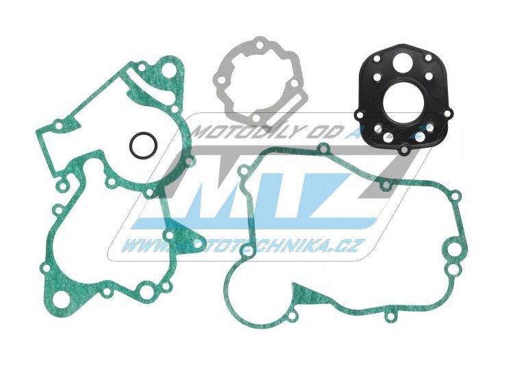 Těsnění kompletní motor Derbi Senda DRD 50 PRO + DRD 50 Racing + X-Trem + X-Race + Piaggio (motor D50B0) + Aprilia RS50+RX50+SX50 + Gilera RCR50 + SMT50