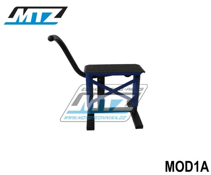 Stojánek MX s gumou - modrý