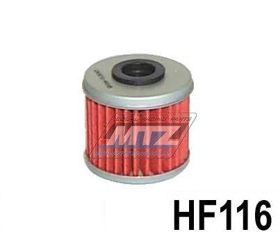 Filtr olejový HF116 (HifloFiltro) Husqvarna TE250 / 10-13 + TC250 / 09-13 + TCX250 / 10-13 + TE310 / 11-13 + TXC310 / 12-13 + Honda CRF250 X / 04-17 + TRX450 ER / 06-14 + CRF150 R / 07-18 + CRF450 RX / 17-18 + CRF450 R / 02-18 + CRF450 X / 05-17 + CR