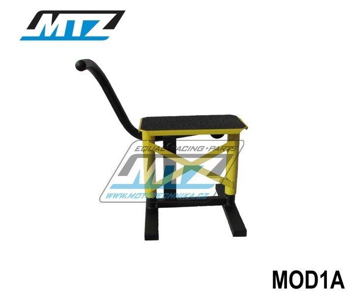 Stojánek MX s gumou - žltý