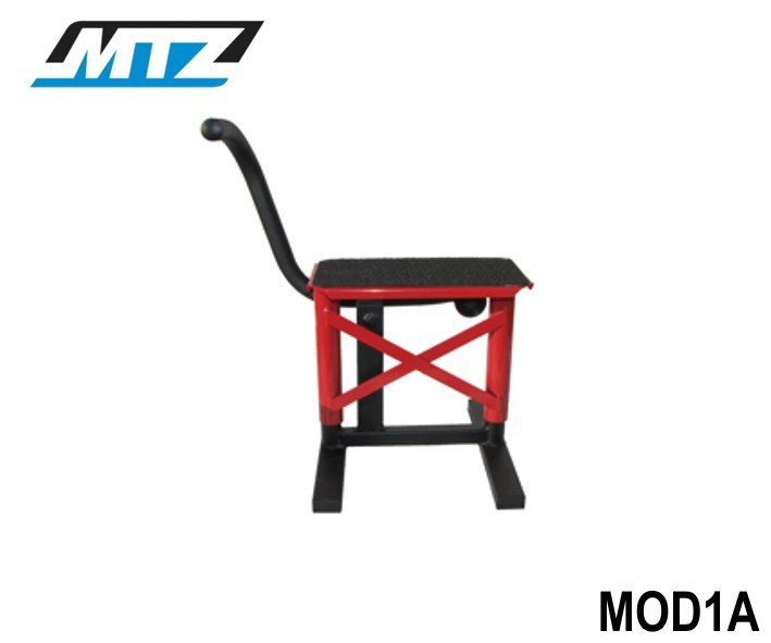 Stojánek MX s gumou - červený