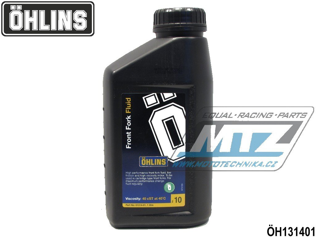 Olej do vidlic Öhlins No10 40cSt40°C (1 litr)