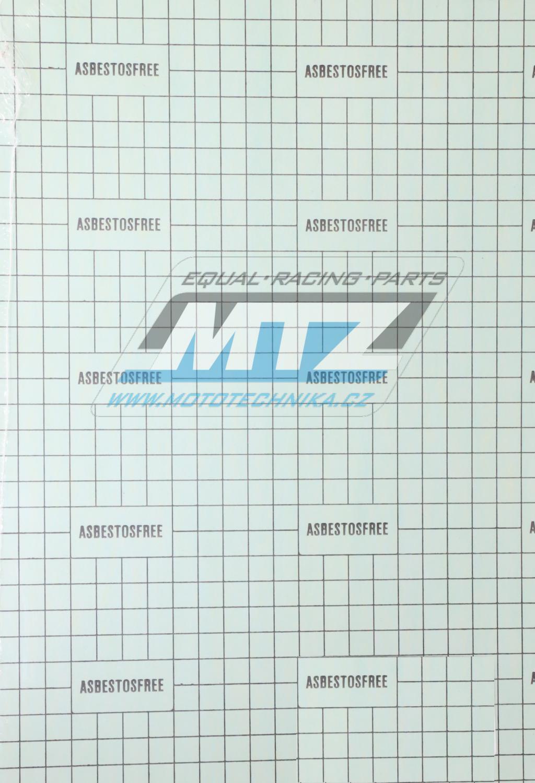 Papír na výrobu těsnění FEUMotor 235x335x0,5mm (1 arch - síla 0,5mm) - zelený