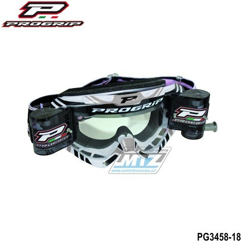 Brýle Progrip Roll-Off XL šedé