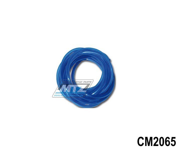 "Hadice palivová 1/4"" (¤6mm) x 1metr - modrá"