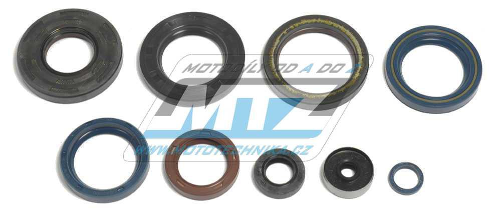 Gufera motoru sada KTM 250SX+360SX+380SX / 90-02 + 250EXC+300EXC+360EXC+380EXC / 90-03 (sada 7 kusů)