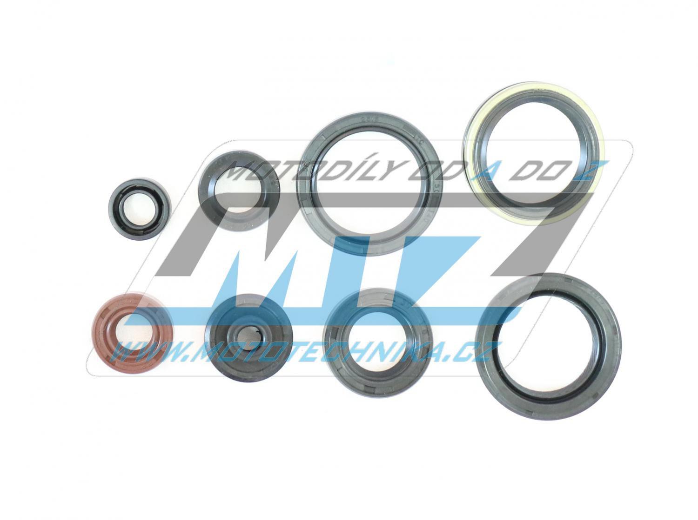 Gufera sada Suzuki RMZ250 / 10-17 (8 ks)