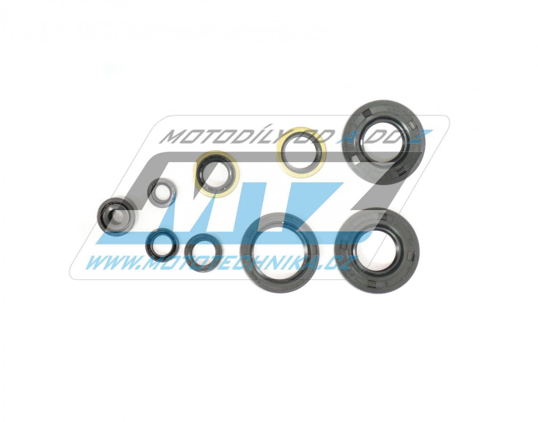 Gufera sada (celý motor) Kawasaki KX80 + KX85 / 98-17 (9 kusů)