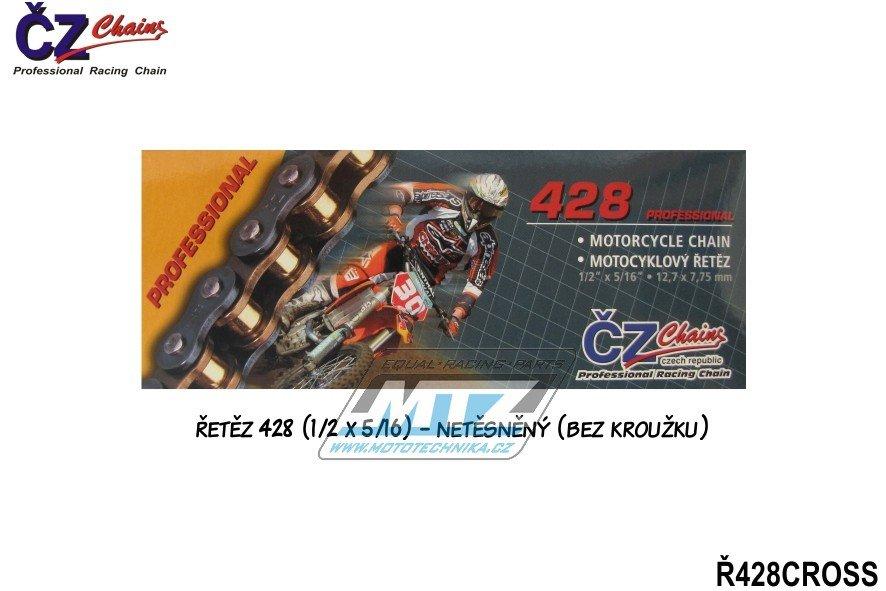 Řetěz ČZ 428 CROSS (130článků)