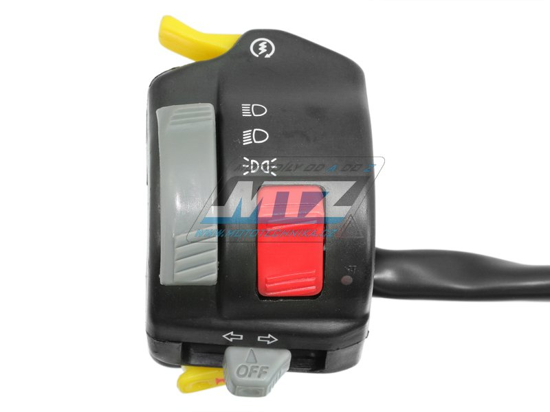 Přepínač sdružený univerzální blinkrů/světel/houkačka - model Yamaha