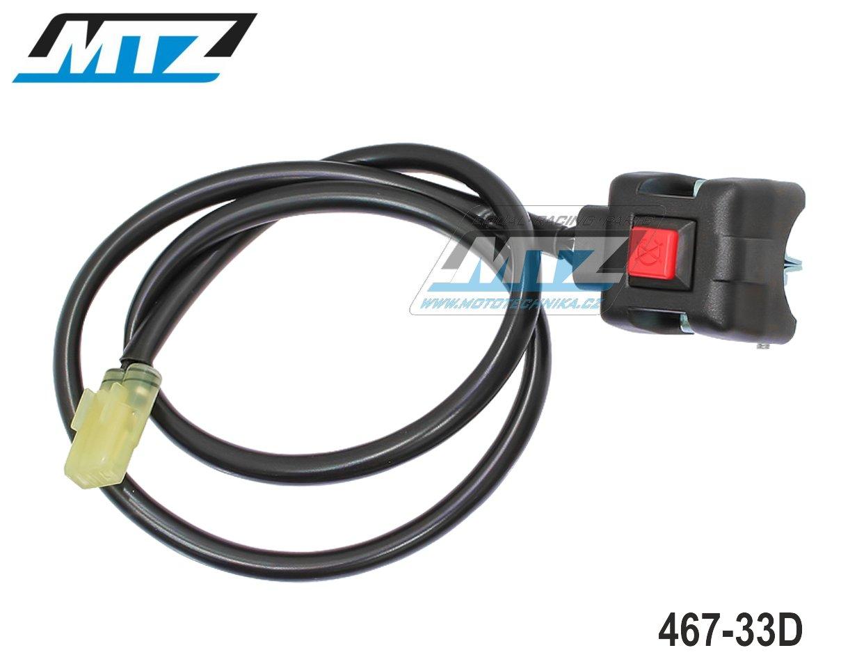 Vypínač/Chcípák Yamaha YZF450 / 10-18 + YZF250 / 14-18 + WRF250 / 15-18 + WRF450 / 16-18