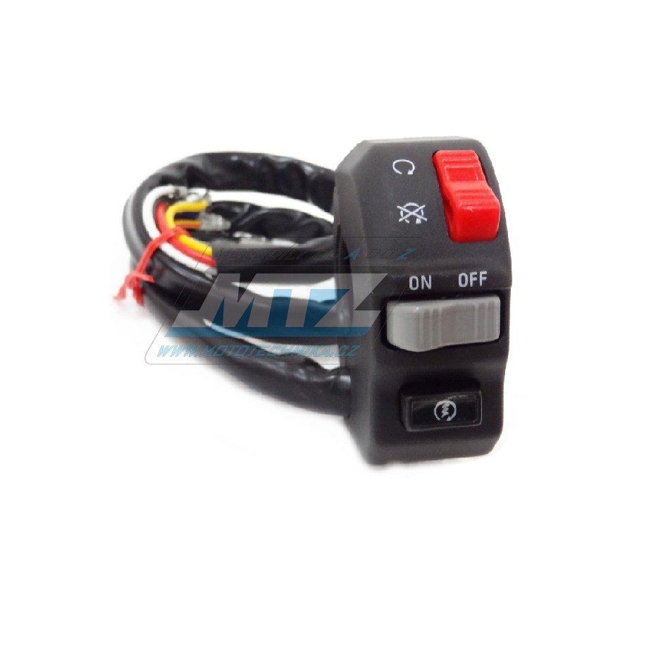 Přepínač blinkrů / světel / houkačka - univerzální použití