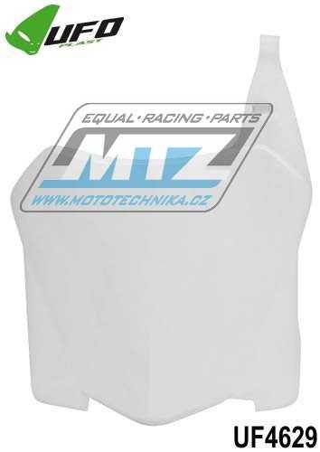 Tabuľka predná Honda CRF250R / 08-09 + CRF450R / 08 - biela